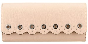 Nine West NWT! Nine West Scallop Continental Envelope Wallet Blush Pink