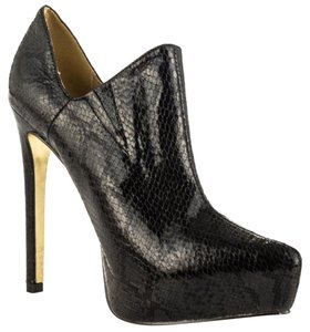 Luichiny Bootie Ankle Boot Black Boots