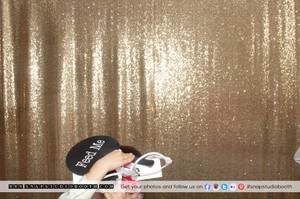 Gold Sequin Photobooth Backdrop
