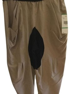 Rachel Roy Baggy Pants Tan & Black