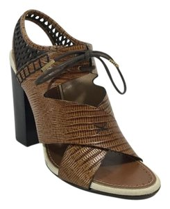 Proenza Schouler Brown/Black Sandals