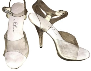 Ellie Shoes Clear Formal