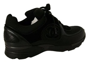Chanel Sneakers Mesh Black Athletic