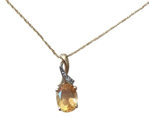Zales November Birth Stone Necklace