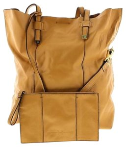 Halston Mini Tote in Tan