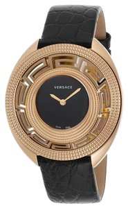 Versace Gold Leather Watch