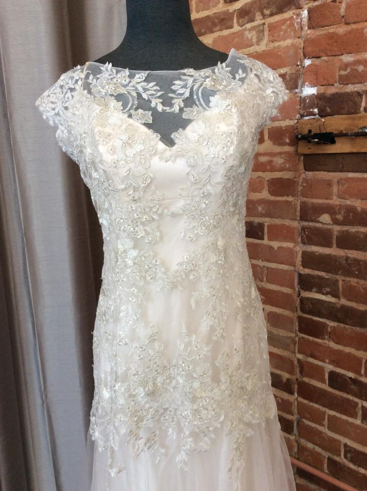 Maggie sottero 5mw711 sundance wedding dress on sale 44 for Maggie sottero wedding dress sale