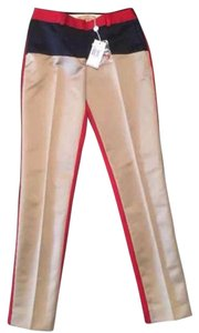 Michael Kors Trouser Pants red/navy/tan