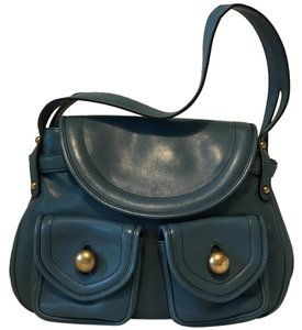 Marc Jacobs Leather Brass Hobo Bag