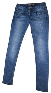 Colcci Premium Distressed Stretch Jeanswear Size 2 Skinny Jeans-Distressed