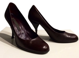 Donna Karan Masala Oxblood Burgundy Pumps