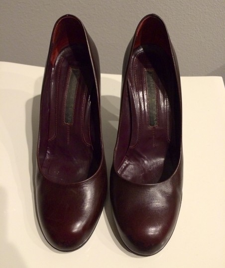 Donna Karan Masala Oxblood Stiletto Burgundy Pumps