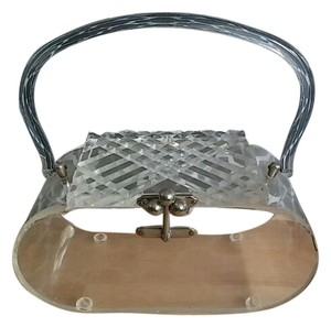 Lucite 50s Clear Clutch