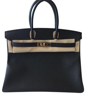 Hermès Birkin 35 Hermes Satchel in Black