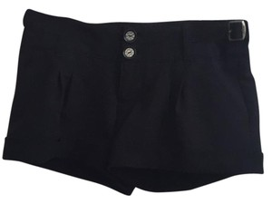 Guess Cuffed Shorts Black
