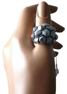 Tory Burch Authentic Tory Burch Hexagon metallic Studded Ring NWT