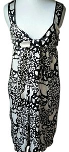 Anthropologie short dress black and white on Tradesy