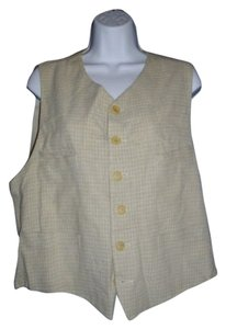 Emporio Armani Buckled Button Down Vintage Vest