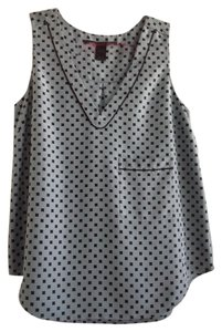 Marc by Marc Jacobs Top Light Blue and Black