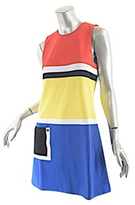 Lisa Perry short dress Red, Blue, White, Black Color on Tradesy