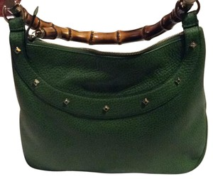 Gucci Satchel in Grass Green