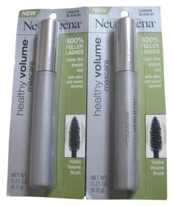 Neutrogena Neutrogena Healthy Volume Mascara, Carbon Black 01 - Lot of 2