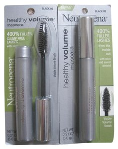 Neutrogena Neutrogena Healthy Volume Mascara, Black 02 - Lot of 2