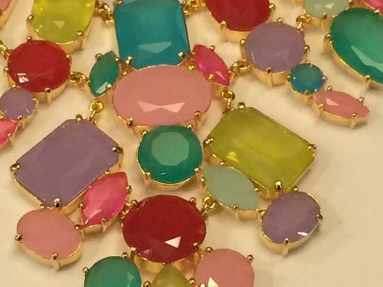 Kate Spade Brand New with Tags Kate Spade Gumdrop Bib Statement Necklace MSRP$248 Colorful Whimsical Beauty
