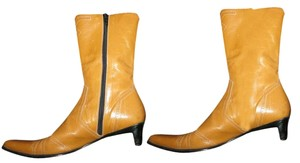 Barneys Co-Op New York Yellow Boots