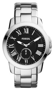 FOSSIL Fossil Men's Slim Grant Stainless Steel Bracelet Watch 44mm