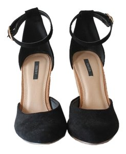 Forever 21 Wedge Cork BLACK AND TAN Wedges