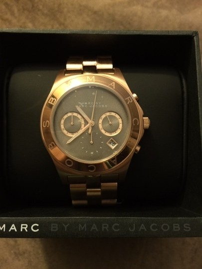 Marc Jacobs Marc Jacobs Women's Blade Brown Dial Rosetone Watch