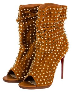 Christian Louboutin Guerilla Suede Brown Boots