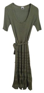 Olive Green Maxi Dress by Missoni