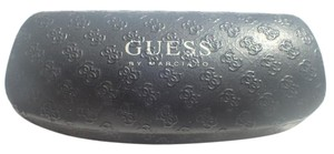 Guess Guess Sunglasses Case Hard Clamshell Case Dark Gray