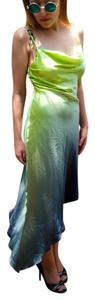Cache Designer Tie Dye Beaded Dress