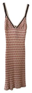 Missoni short dress Red and white on Tradesy
