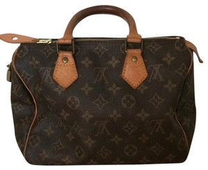 Louis Vuitton Satchel in Logo Print