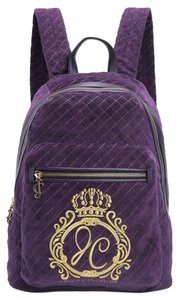Juicy Couture New With Tags Quilted Velour Backpack