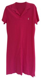 Ralph Lauren short dress Hot Pink on Tradesy