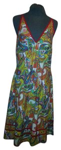 Mexicali Blues short dress Multi/Red Sun Summer Cotton on Tradesy