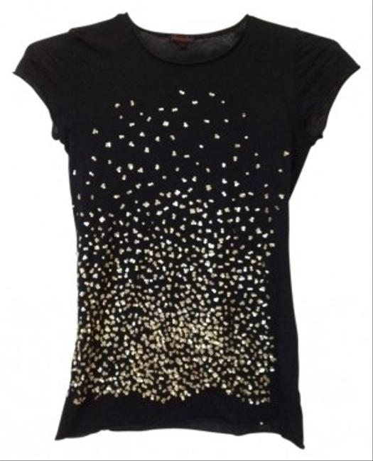 Preload https://item3.tradesy.com/images/black-sequined-tee-shirt-size-4-s-17442-0-0.jpg?width=400&height=650
