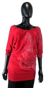Desigual 3/4 Sleeve Oversized Sweater