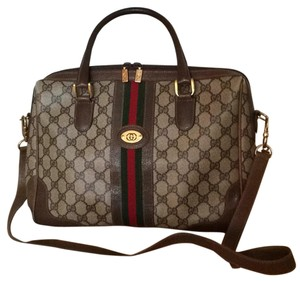 Gucci Satchel in Logo Print