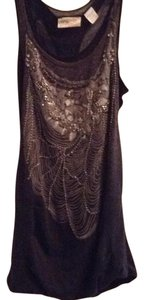 Miss Me Top Black, grey