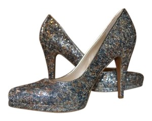 Nine West Sparkle Party mixed sequin Pumps