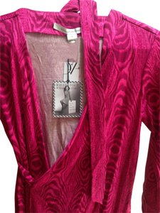 Diane von Furstenberg short dress Dark pink on Tradesy