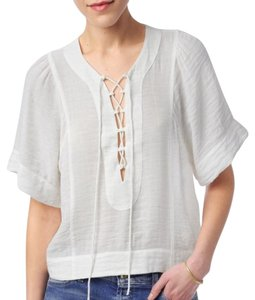 7 For All Mankind Top White