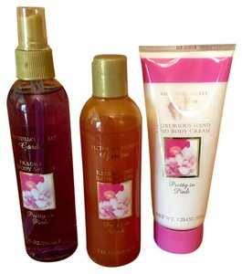 Victoria's Secret Victoria's Secret Pretty in Pink Body Splash, Shower Gel, Body Cream