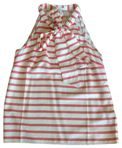 J.Crew Top Pink stripes